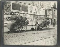 Rag cart. (1896). Photo: Alice Austen. NYPL.