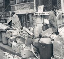 1968 New York Sanitation Worker Strike. The Wire.