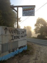 """Original caption: """"The high water line next to the Ausable River in New York"""" From a personal blog http://onscreeninperson.com/2013/09/23/on-tour-lake-placid-ny/"""