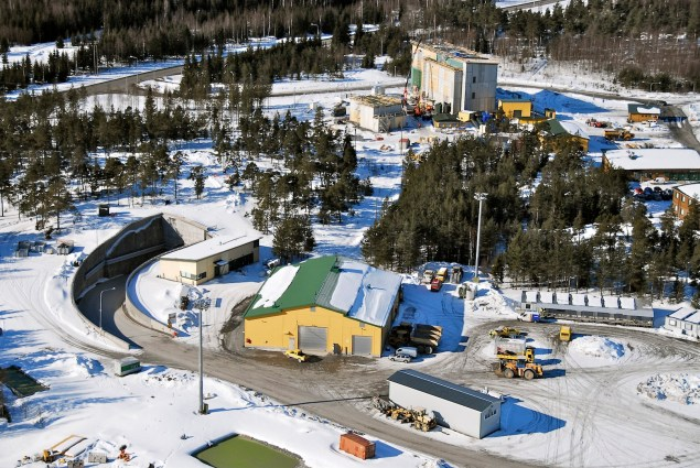 Aerial Shot of the Site of the Prospective Olkiluoto High-Level Nuclear Waste Repository (Photo Credit: Posiva Oy).