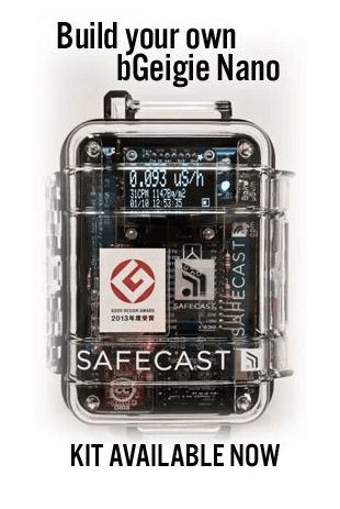 The SafeCast Geiger counter.