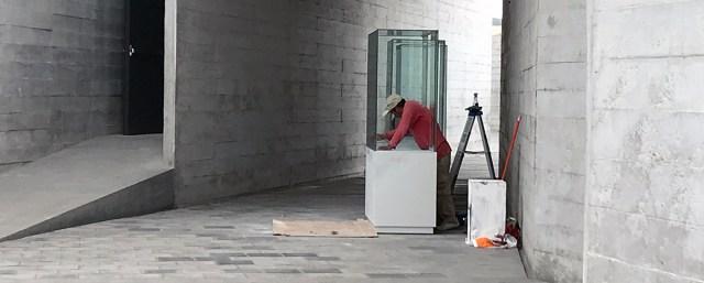 museum worker
