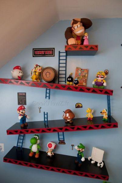 Prateleira - Mario Bros