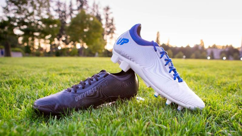 Ultimate Frisbee Cleats from Universe Point.