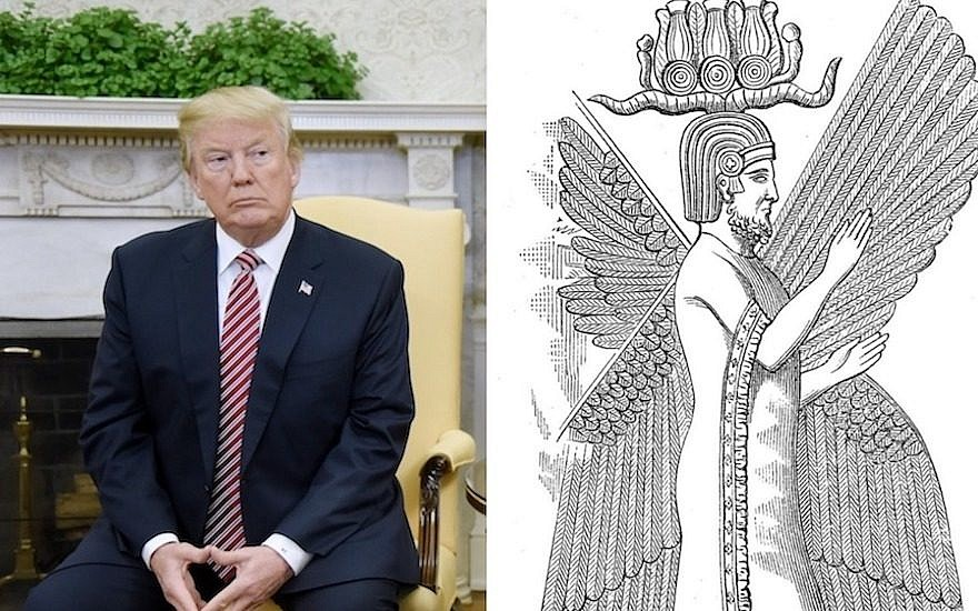 Donal Trump and King Cyrus - type of AntiChrist