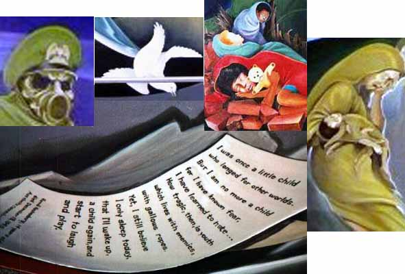 DIA1-3rdMural-MainPicture-Images New World Order Airport - Occult art