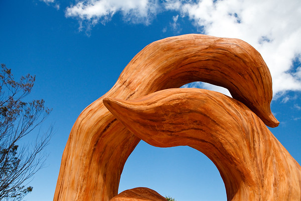 Kindled Spirits, Carmel Marsden - Swell Sculpture Festival, Pacific Parade, Currumbin Beach, Gold Coast, Queensland, Australia. Photos by Des Thureson:  http://disci.smugmug.com.