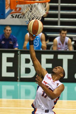 Ron Howard - Gold Coast Blaze v Adelaide 36ers NBL Basketball; Queensland, Australia; Sunday 13 February 2011. Photos by Des Thureson: http://disci.smugmug.com