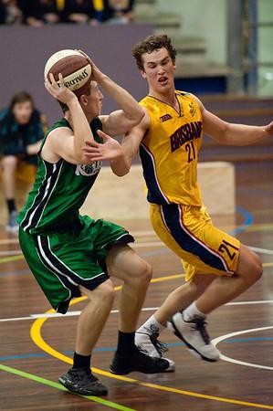 QBL Quarter Final Basketball: Gold Coast Rollers v Brisbane Capitals; Carrara, Gold Coast, Queensland, Australia. Photos by Des Thureson:  http://disci.smugmug.com.