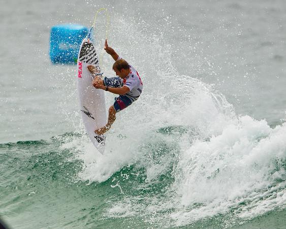 Semifinalist Josh Kerr - 2012 Quiksilver Pro Surfing Semi Finals - final day; Snapper Rocks, Coolangatta, Gold Coast, Queensland, Australia; 04 March 2012. Photos by Des Thureson - disci.smugmug.com.