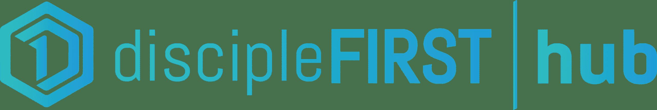discipleFIRST Hub Logo-Horizontal-Gradient-v3