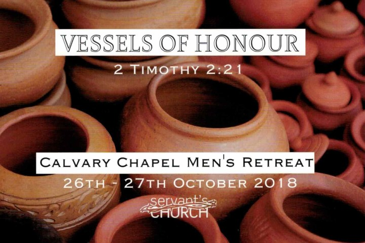 Men's Retreat 2018