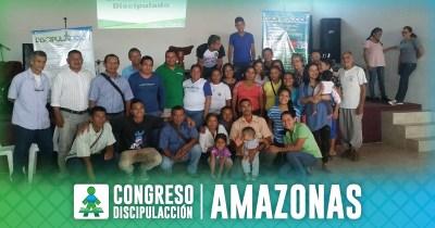 ¡CONGRESO DISCIPULACCIÓN AMAZONAS!