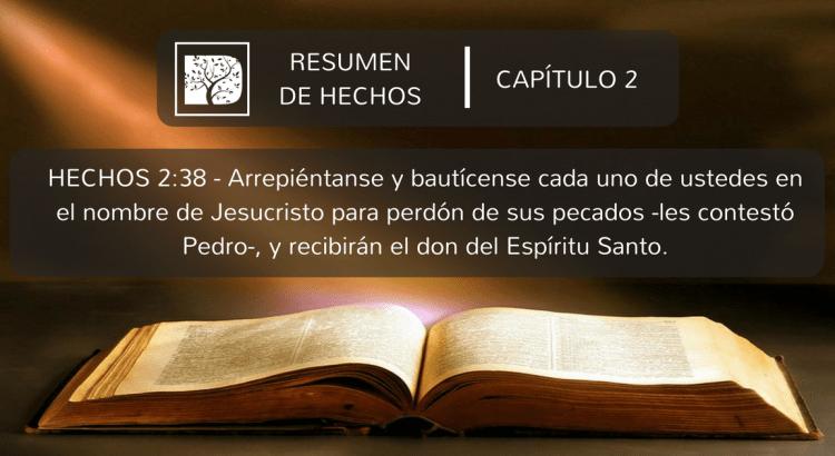 Resumen De Hechos Capitulo 2 Discipulado Cristiano