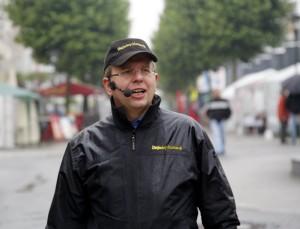 FOTO:  ROLAND KEUSCH Tag der Vereine  Moderator DJ Markus