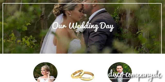 Hochzeitshomepage erstellen  Der neueste Trend