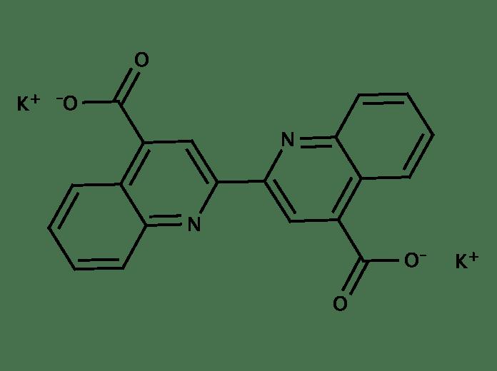 2,2'-Biquinoline-4,4'-Dicarboxylic Acid Dipotassium Salt