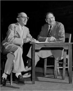 Kurt Weill and Maxwell Anderson