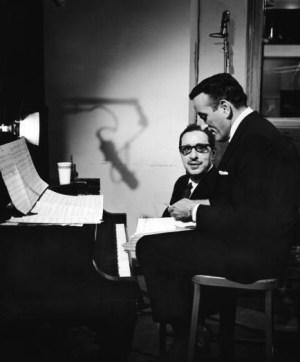 Harold Arlen and Tony Bennett