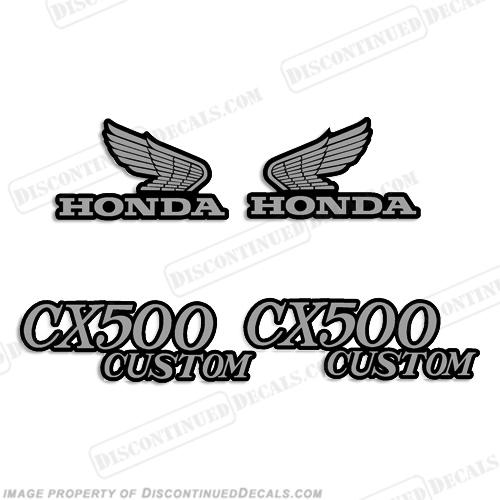 Vintage Honda Decals