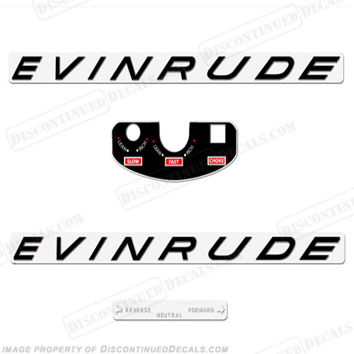 Evinrude Decals, Page 6