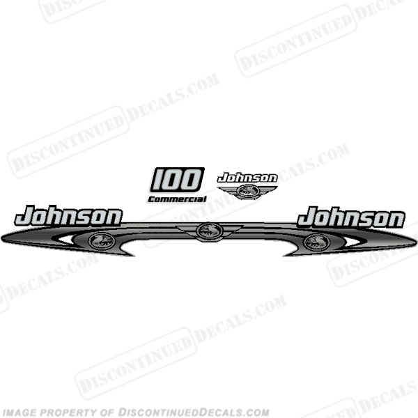 Mercury 1990 115HP Outboard Decals