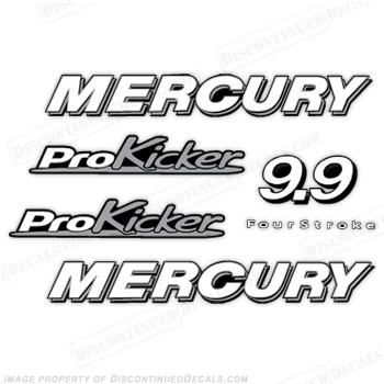 Custom Color Mercury Decals