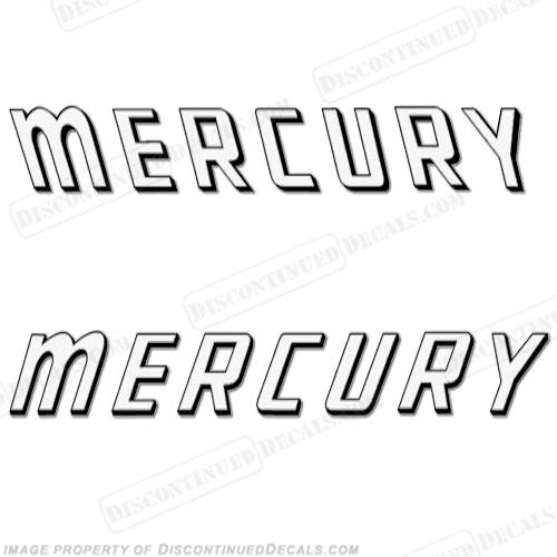 Mercury 1959 Mark 58A White Decals
