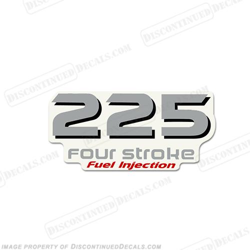 Yamaha 225hp FourStroke Decal Kit