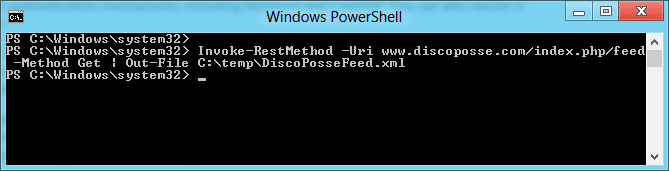 powershell curl invoke-restmethod