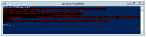 powershell import-csv header file does not exist