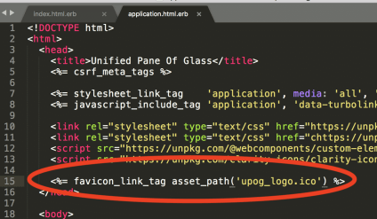 How to Add a Favicon in Ruby on Rails Apps | DiscoPosse com