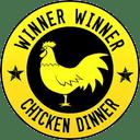Chicken dinner Discord Emoji Humbaa Gaming