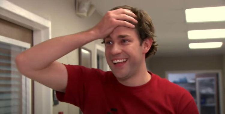 Jim Halpert in the Season 5-episode 28, The office picnic
