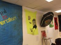 Foundation Dip exhibition ready for marking