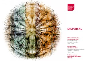2014 Dispersal poster