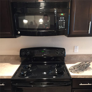 ge black over the head microwave