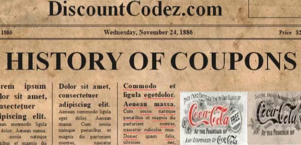 History of coupon