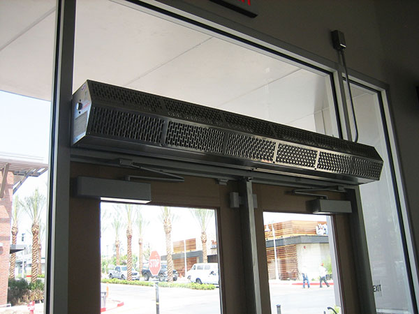 Air Curtains  Discount Commercial Doors