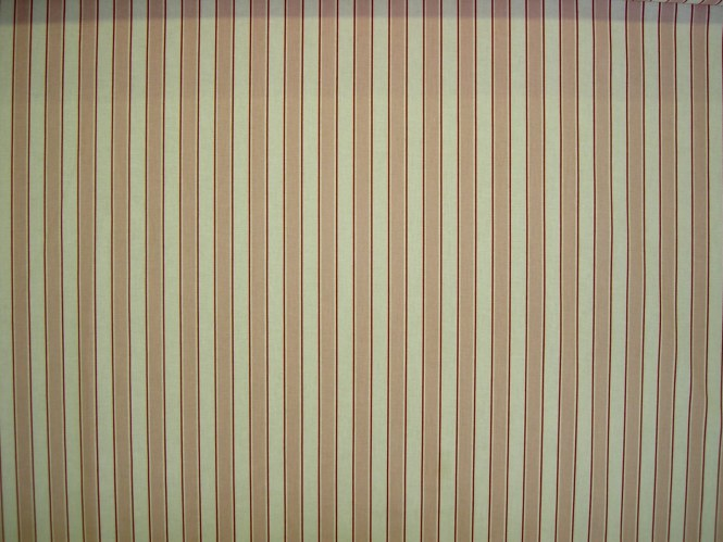 Brown Silver And Ivory Striped Textured Metallic Upholstery Fabric By The Yard Transitional