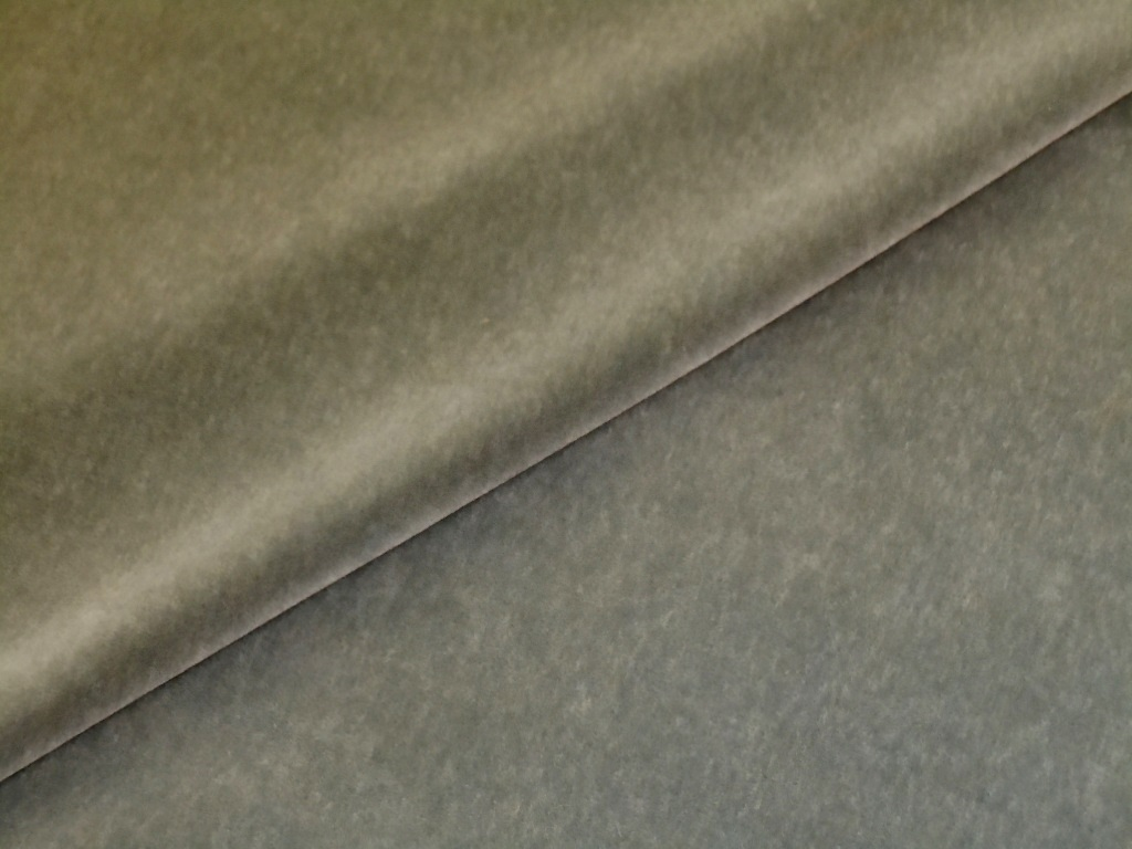 Mohair Upholstery Fabric in Grey from JB Martin