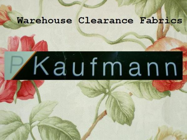 P Kaufmann Fabrics Schindlers Outlet Warehouse Clearance Sale