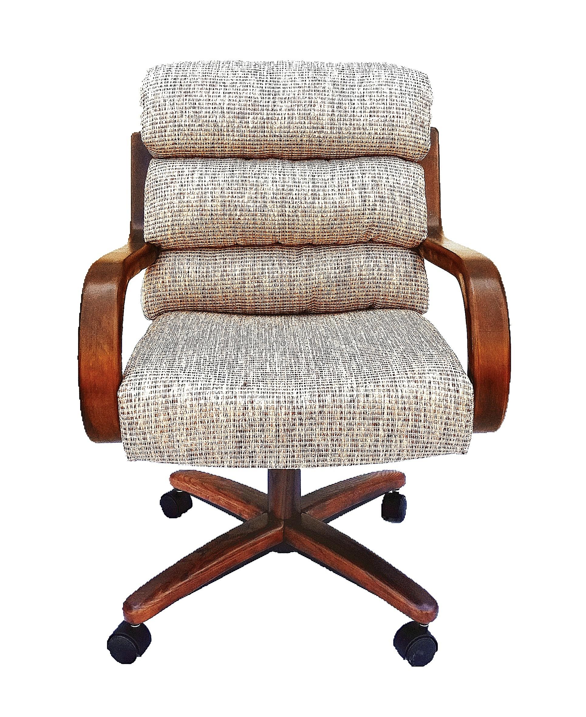 Chromcraft Furniture C137936 Swivel Tilt Caster Dinette