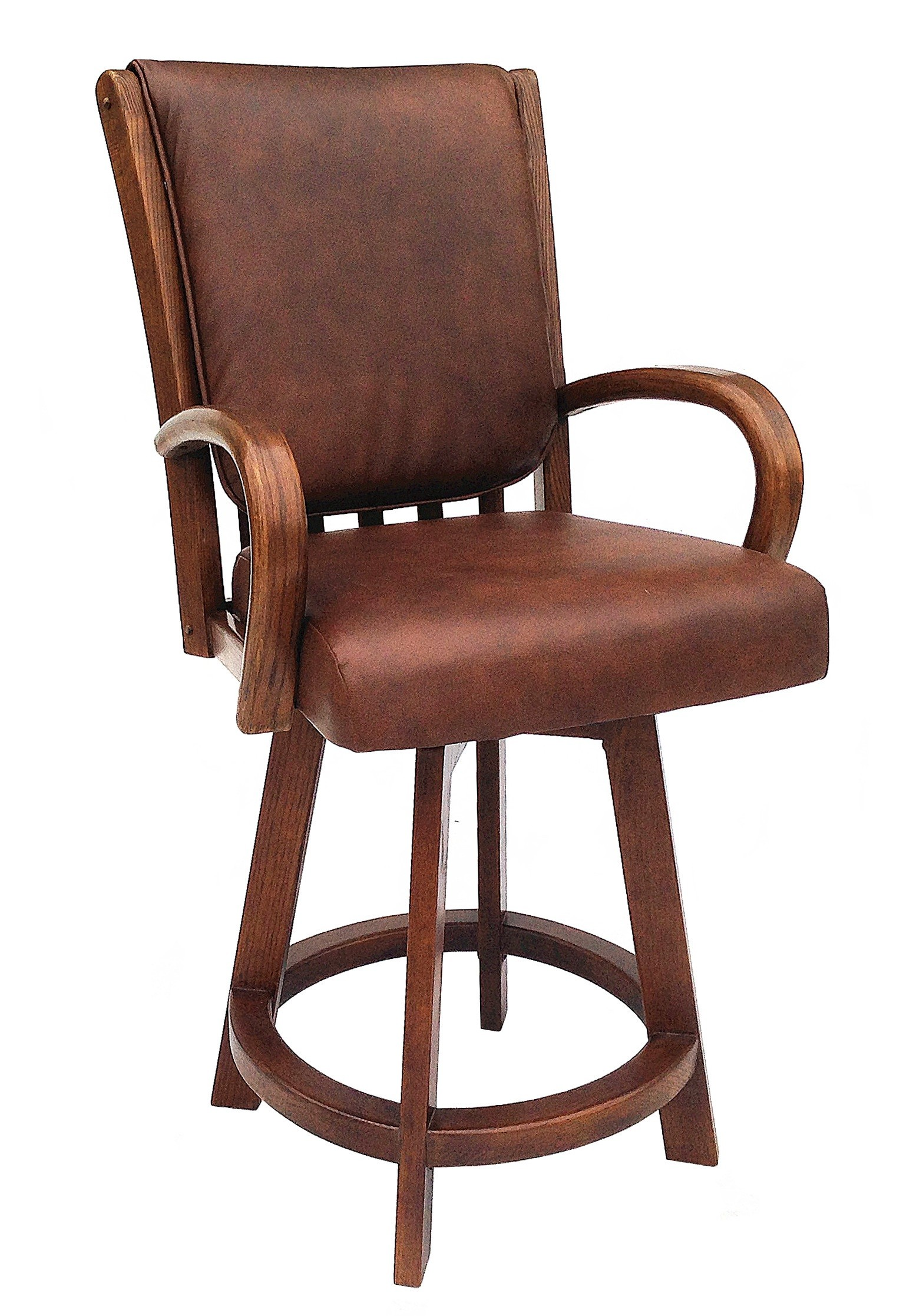 chair and stool heights rental columbus ohio chromcraft core c177 384 swivel counter height 24 quot bar