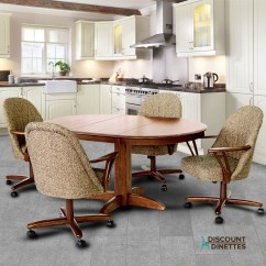 Chromcraft Furniture Kitchen Chair With Wheels Sample Kitchens Dinette Chairs Casters Vintage