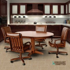 Chromcraft Furniture Kitchen Chair With Wheels Prefab Island C177 936 And T250 607 Dining Set Discount More Views