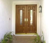 Entry Prehung Arched Glaze Double Door
