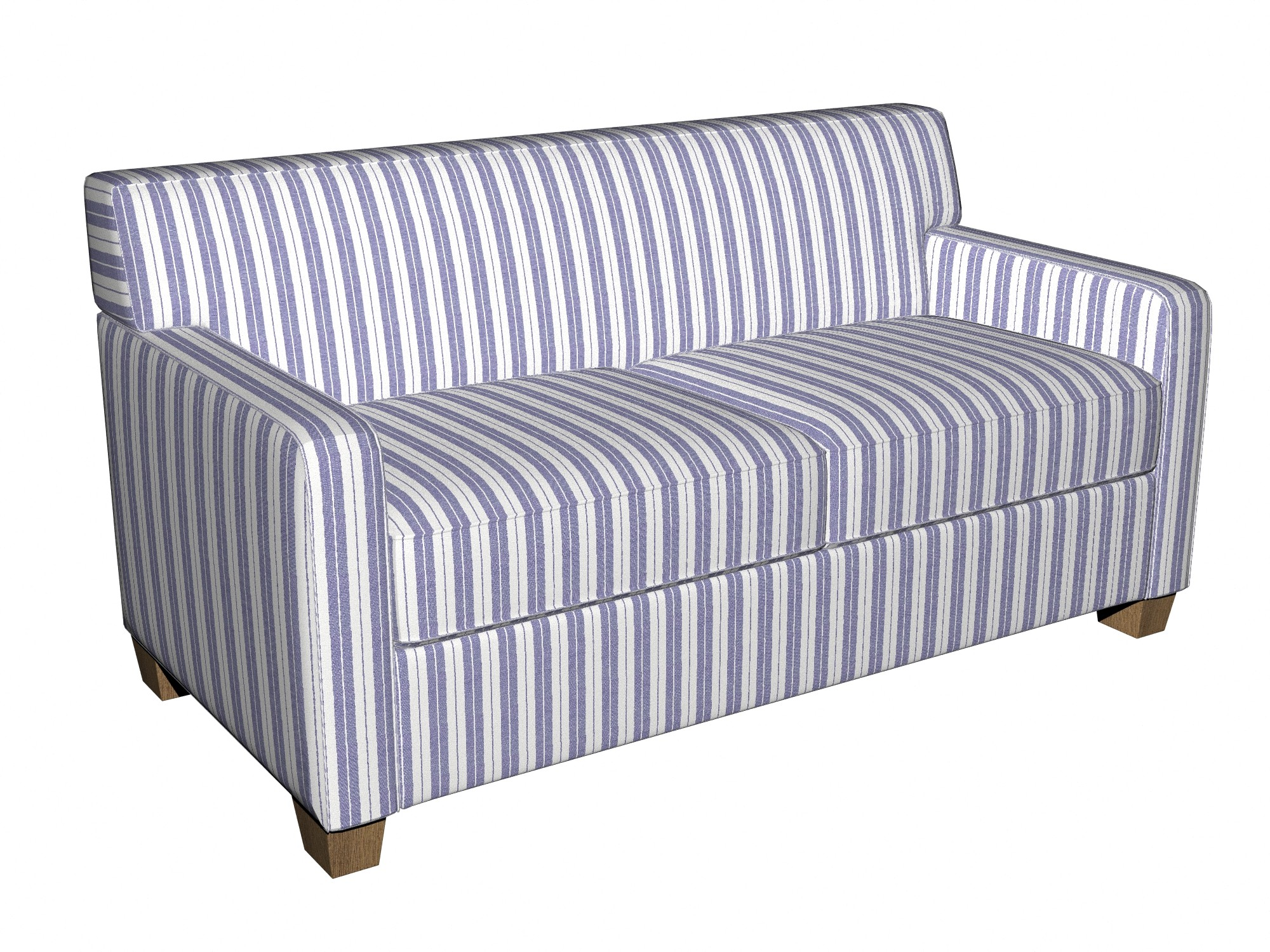 Blue And White Striped Chair Striped Sofa Fabrics Brokeasshome