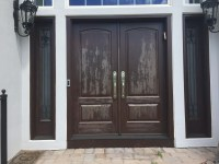 Refinishing Exterior Wood Doors