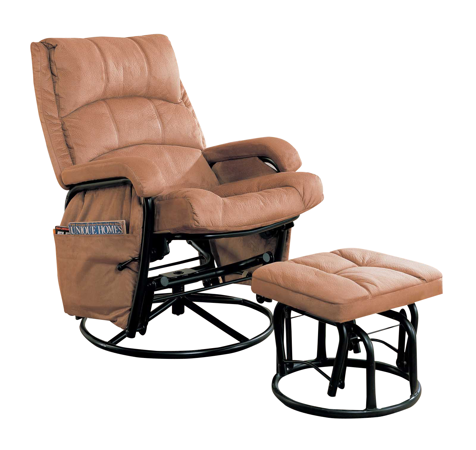 Glider Chair And Ottoman Coaster Reclining Glider Rocker And Ottoman 650005